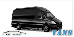 San Antonio Luxury Van service
