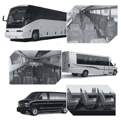 San Antonio Coach Bus rental
