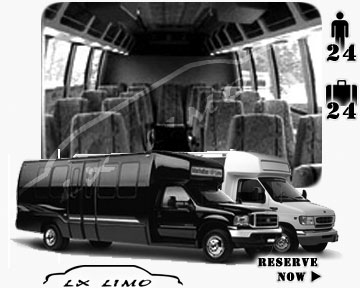 Bus for airport transfers in San Antonio, TX
