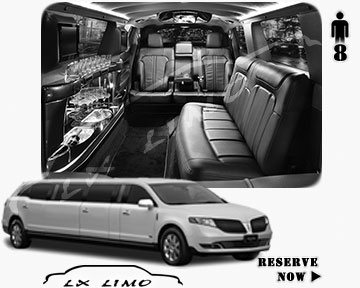 Stretch Wedding Limo for hire in San Antonio, ON, Canada